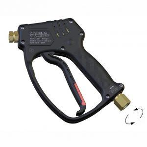 Пистолет RL36, до 310бар 30л/мин 160°C, Вх.3/8″BSP(Г) на вертлюге, Вых.1/4″BSP(Г)