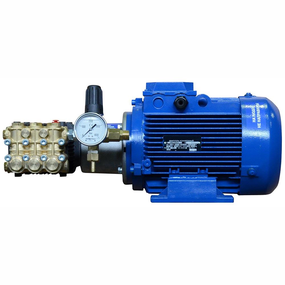 Мойка высокого давления ПОСЕЙДОН E5-200-15М2 5,5 кВт, 200 бар, 15 л/мин, привод через муфту
