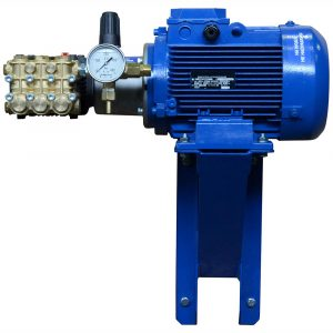 Мойка высокого давления ПОСЕЙДОН E5-200-15М4-IP 5,5кВт, 200бар, 14 л/мин, привод через муфту, рама