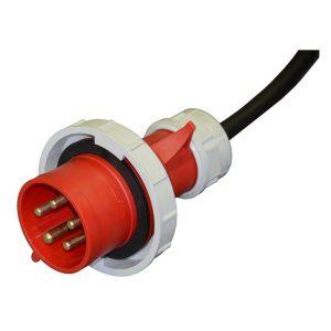 Вилка кабельная 32А, 400V, 3Р+N+E, IP67