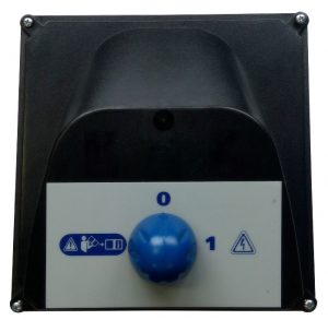 Электрическая коробка с переключателем и платой управления, без электр.кабеля, для двигателя 5,5кВт (для системы Тайм-стоп)
