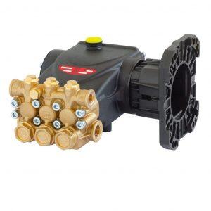 Насос EVO E2E2815C1″, без рег.клапана, 275бар, 15л/мин, 3400об/мин, 7,87кВт, с фланцем для ДВС (полый вал 1″), Interpump (Италия)
