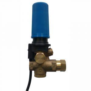 Клапан регулировочный VRB250 с микровыключателем, Вх/Вых 3/8″BSP(Г), Bps 3/8″BSP(Г), до 250бар до 35л/мин (для системы Тайм-стоп)