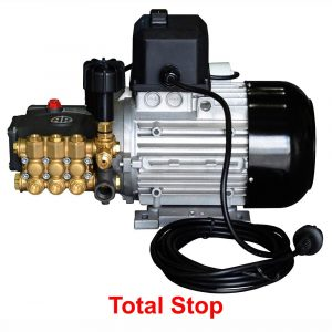"""Модуль мойки высокого давления ПОСЕЙДОН E2-110-12М1 под монтаж, 220В 2,2кВт, 110 бар, 12 л/мин, прямой привод, система """"Тотал-Стоп"""""""