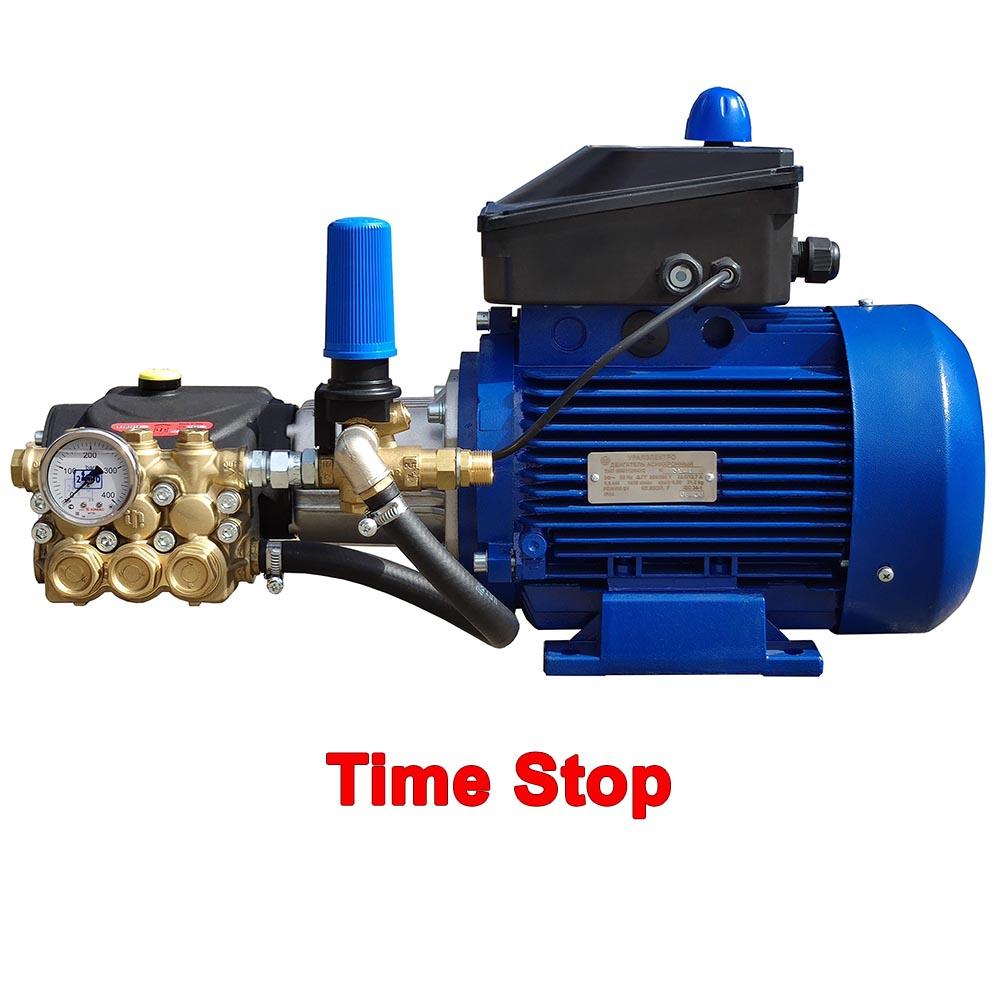 """Модуль мойки высокого давления ПОСЕЙДОН E5-200-15М2-IP-TST под монтаж, 5,5 кВт, 200 бар, 14,5 л/мин, привод через муфту, система """"Тайм-Стоп""""."""