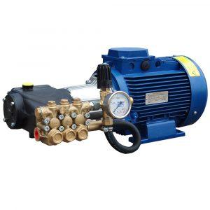 Модуль мойки высокого давления ПОСЕЙДОН E5-200-15М2-IP под монтаж, 5,5 кВт, 200 бар, 14,5 л/мин, привод через муфту.