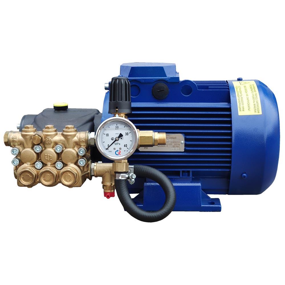Модуль мойки высокого давления ПОСЕЙДОН E5-200-15М1-IP под монтаж, 5,5 кВт, 200 бар, 14,5 л/мин, прямой привод.
