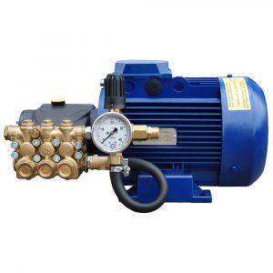 Модуль мойки высокого давления ПОСЕЙДОН E5-200-15М1-HOT под монтаж, 5,5 кВт, 200 бар, 15 л/мин, прямой привод, насос до 85⁰С.
