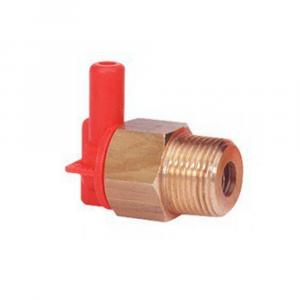 Терморегулятор VT6, до 63ºC, до 10бар, присоединение 1/2″BSP(Ш), штуцер шланга 7мм, латунь/пластик